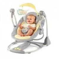 Электронные качели для малышей