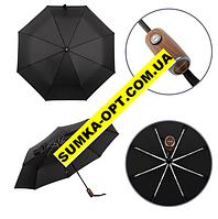 Зонты мужские складные автомат оптом (ЧЕРНЫЙ)