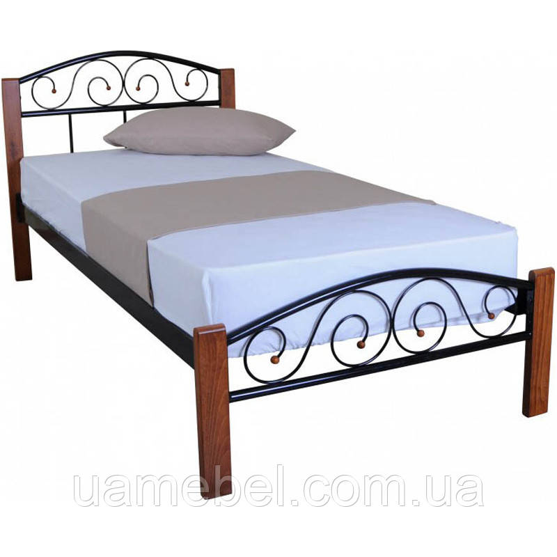 Кровать VEDERI 900x2000 black (E1649)