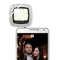 Подсветка для селфи на смартфон в 3.5 мм 16LED iOS Android