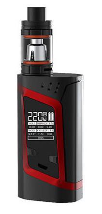Электронная сигарета Smok Alien 220W Черно - красный