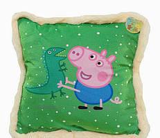 Подушка детская BeniLo Свинка Пеппа Зелёная