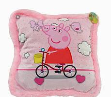 Подушка для детей BeniLo Свинка Пеппа Розовая