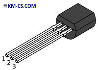 Транзистор биполярный pnp 2N6520RLRAG (ON Semiconductor)