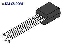 Транзистор биполярный pnp BC327-25 (ON Semiconductor)