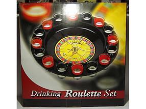 I3-90 Рулетка в картоні, Рулетка зі стопками в упаковці, Гра рулетка з чарками, П'яна рулетка