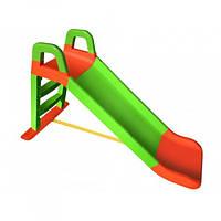 Дитяча гірка для дачі та дому 140 см Долони Зелена