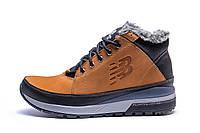 Мужские  зимние кожаные кроссовки  New Balance Fox (реплика)