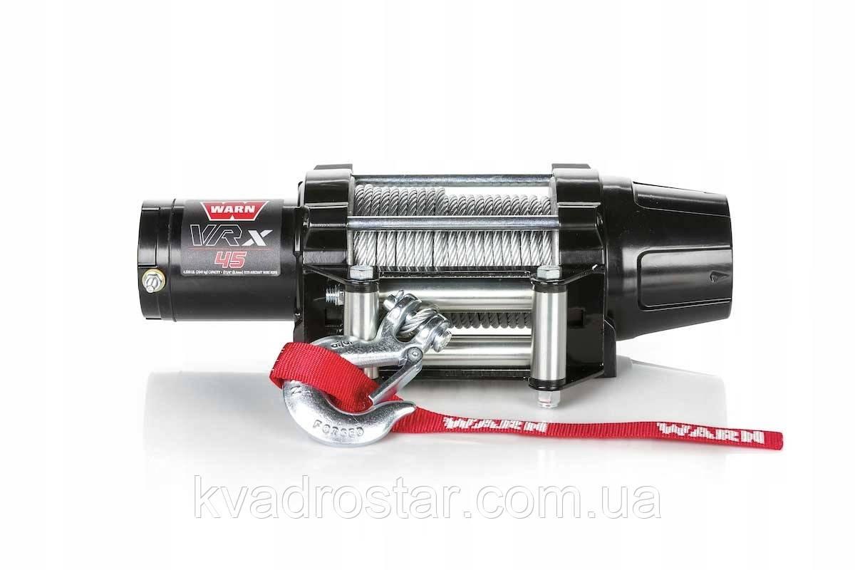 Лебедка для квадроцикла или багги WARN VRX 45 IP68 (4500фунтов — 2041кг) 101603 4505-0724