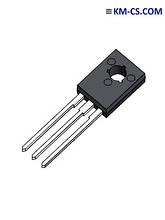 Транзистор биполярный pnp BD136-16 (STM)