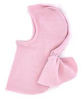 Термошапка-шлем из шерсти мериноса MAM ManyMonths (размер 110-122/128, розовый)