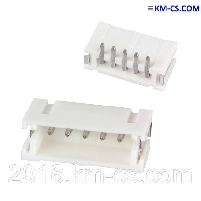 Штыревые соединители (Headers), 2mm B5B-ZR-SM4-TF(LF)(SN)(P) (JST)