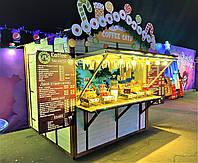 Торговый киоск 2,36 х 2,36 м. Деревянные киоски, павильоны, ларьки от производителя в Киеве, фото 1