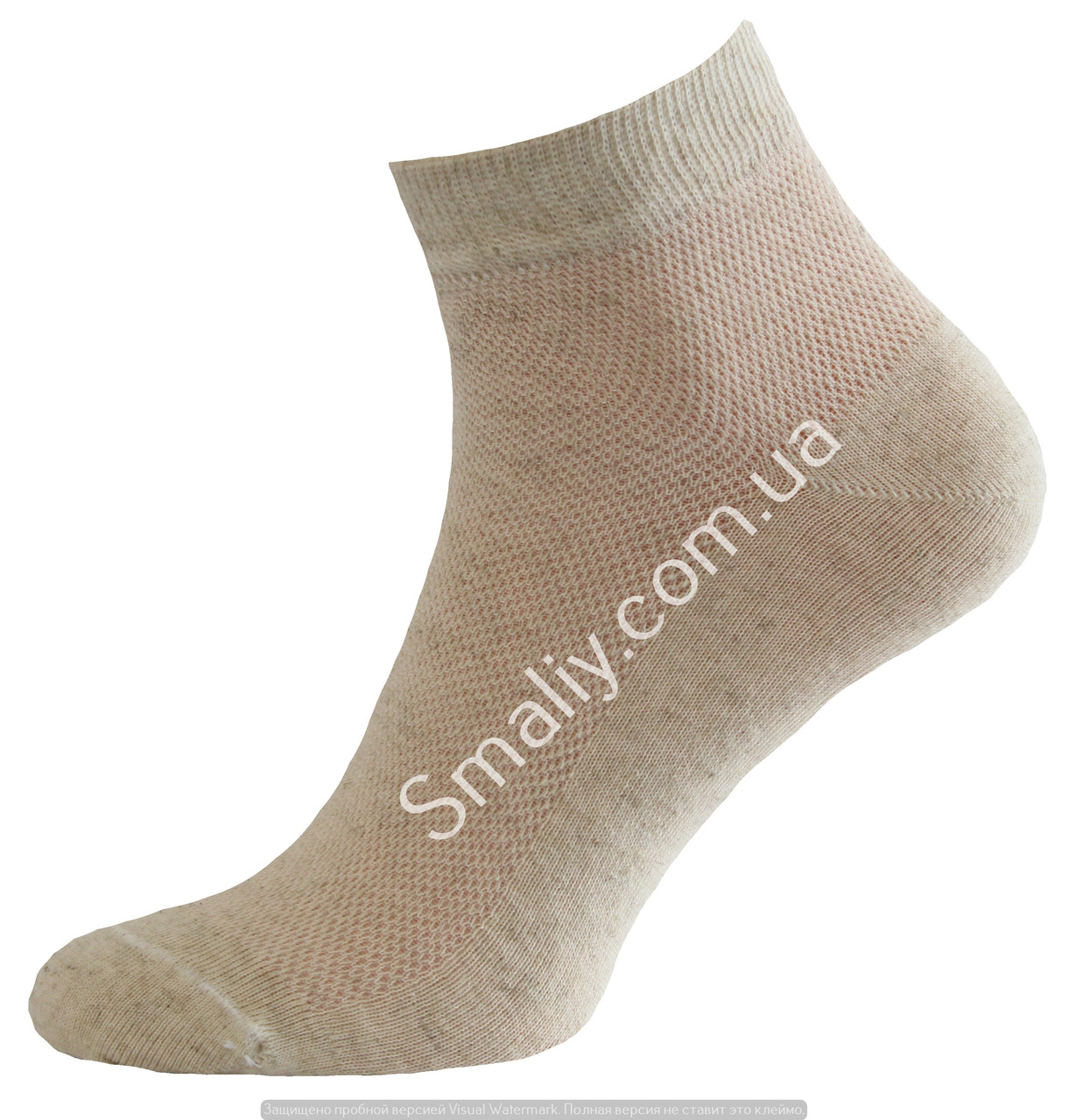 Летние укороченные носки, лен