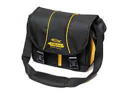 Рыболовная сумка спиннингиста Кибас наплечная Kibas Spin St 300х150х250 мм Черная