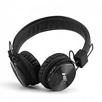 Беспроводные наушники NIA X3 c FM и MP3 Bluetooth гарнитура Черные