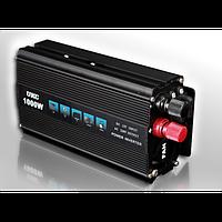 Автомобільний інвертор UKC 1000W Перетворювач 12V - 220V Inverter I-Power SSK, фото 1