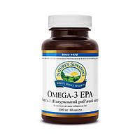 Жирные кислоты Омега 3 натуральный рыбий жир (Omega 3 EPA) NSP для детей взрослых беременных США