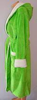 Махровый женский  халат длинный , фото 2