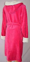 Махровый женский  халат длинный , фото 3