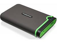 Жесткий диск Transcend StoreJet 25M3G 1TB TS1TSJ25M3G 2.5 USB 3.1 Gen1 External Military Green, фото 1