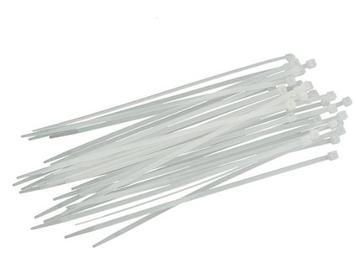 Хомут пластиковый    3*200    белый (100шт)