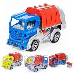 Детская машинка - мусоровоз (032)