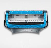 Сменные кассеты для бритья поштучно Fusion Proshield Chill 1шт (Синие) (Original) - Gillette