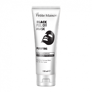 Глибокоочищаюча маска-плівка для обличчя Petite Maison Black, 120 мл (3409014)