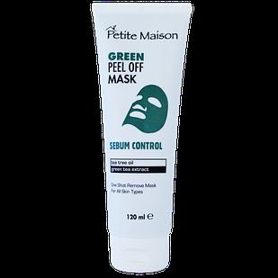Нормалізуюча  маска-плівка для обличчя Petite Maison Green, 120 мл (3409011)