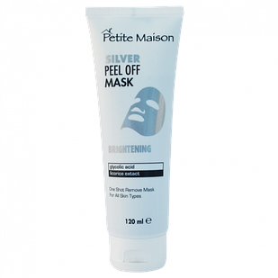 Відбілююча  маска-плівка для обличчя Petite Maison Silver, 120 мл (3409012)
