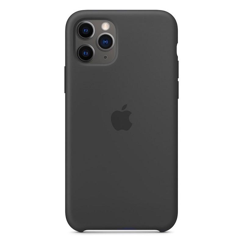 Силиконовый чехол iPhone 11 Pro Max (2019) черный