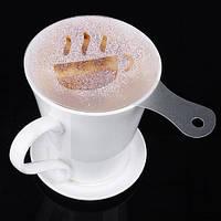 Трафареты для кофе формочки для посыпки набор баристы кондитера, 16шт