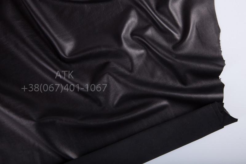 Кожа одежная наппа черная