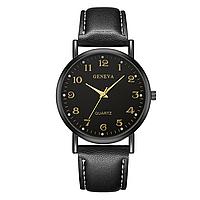Женские наручные часы Geneva Classic Business Black
