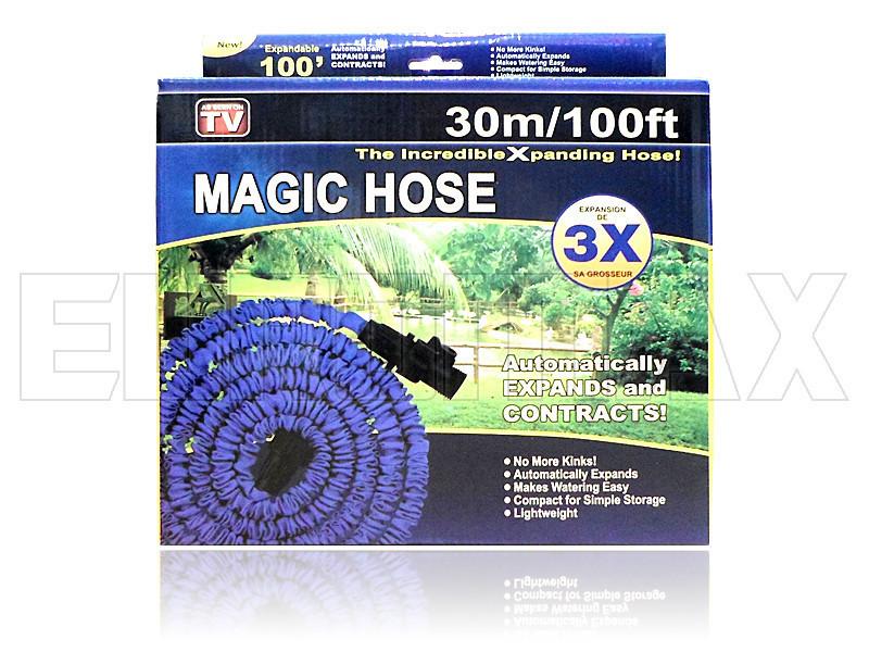 Шланг поливочный 30,0м steel HOSE-30_0m-100FT-steel