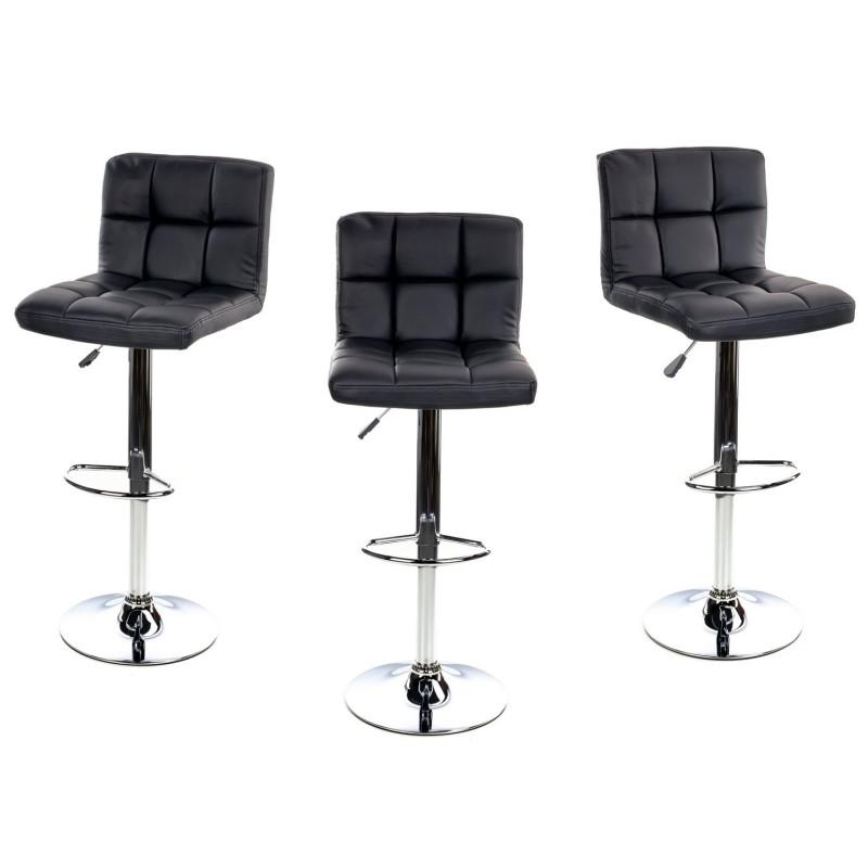 Барный стул Hoker, газлифт (BS-001) Черный