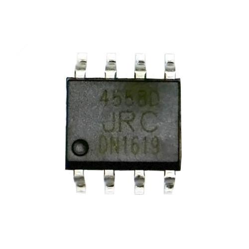 Чип JRC4558D JRC4558 SOP8, Операционный усилитель 2-канальный