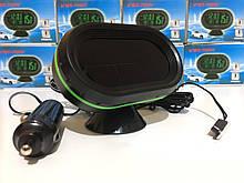 Автомобильный вольтметр с термометром с выносным датчиком и индикатором температур VST-7009