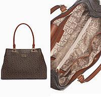 Сумочка Calvin Klein Hudson monogram logo 3-compartment tote bag