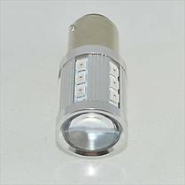 Светодиодная автомобильная лампа SLP LED с цоколем 1157(P21/5W)(BAY15D) 26-2835 9-30V Красный, фото 2