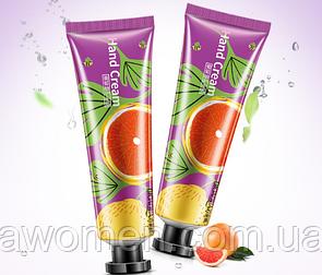 Крем для рук Bioaqua, 30 гр с экстрактом грейпфрута (фиолетовый)