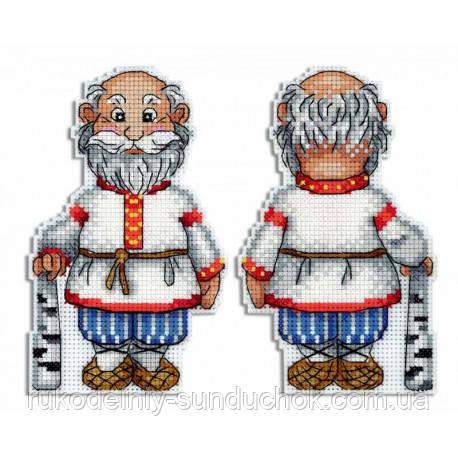 Набор для вышивки крестом МП Студия  Р-467 Дедушка
