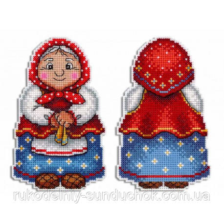 Набор для вышивки крестом МП Студия Р-468 Бабушка