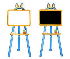 Мольберт для рисования (оранжево-голубой)  scs