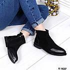 Женские зимние ботинки в черном цвете из натуральной замши/кожи 36 38 ПОСЛЕДНИЕ РАЗМЕРЫ, фото 8