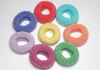 Резинки для волос, №4 цветные (12 шт) 11_10_56