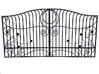 """Кованые ворота """"Виноград"""""""