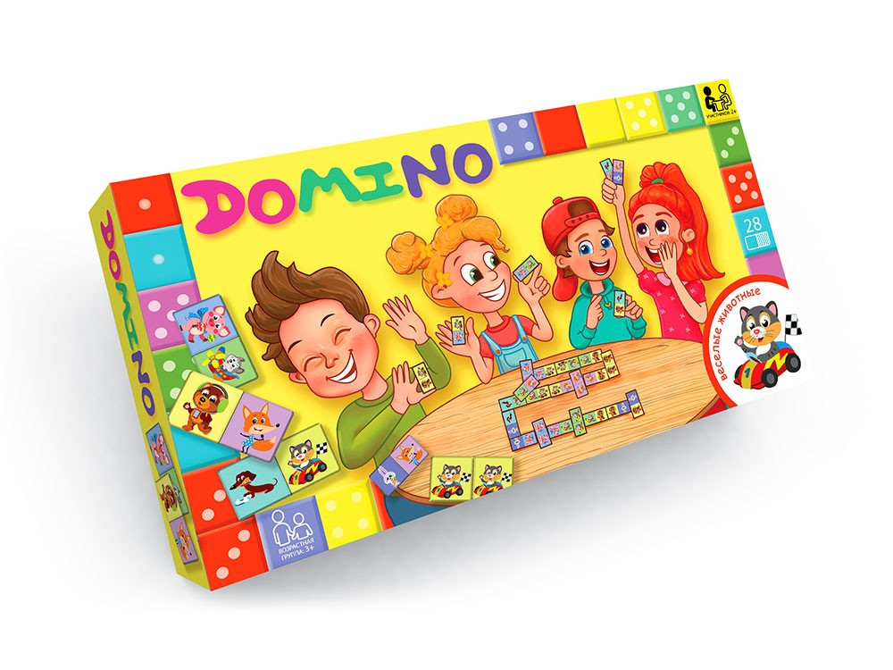 Настільна гра «Доміно» NEW (12) DT-G-DMN-01-04