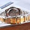 Мужские металлические часы Rolex Daytona, Ролекс, золотий чоловічий годинник, фото 4